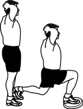 Balance Exercises Clipart