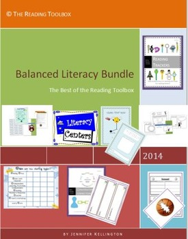 Balanced Literacy Bundle The Best of The Reading Toolbox L