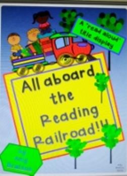 Balanced Literacy Literature Read Aloud Train Bulletin Boa