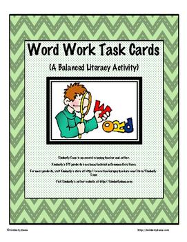Balanced Literacy Task Card Bundle