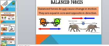 Balanced and Unbalanced Forces