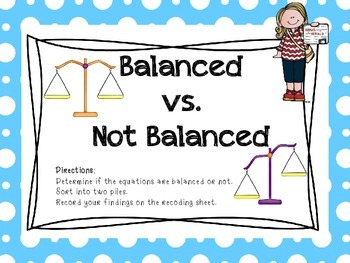 Balanced or Not Balanced?