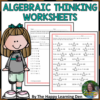 Algebraic Thinking: A (Differentiated) Balancing Act