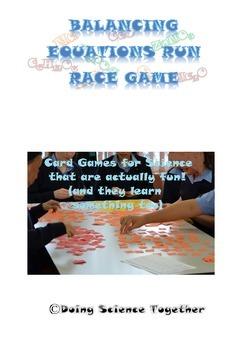 Balancing Chemical Equations Run Race Game