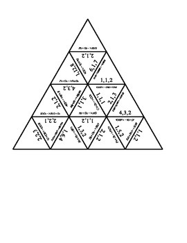 Balancing Chemical Equations Using Tarsia Puzzles