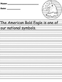 Bald Eagle Writing Paper