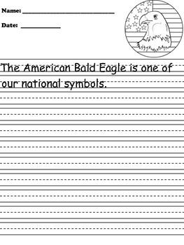 Bald Eagle Writing Paper