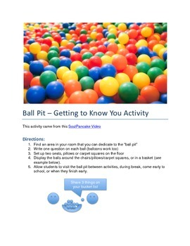 Ball Pit - Make a Friend
