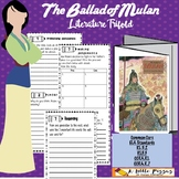 Ballad of Mulan HM Trifold Third Grade
