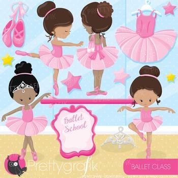 Ballerina clipart commercial use, graphics, digital clip a