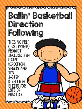 Ballin' Basketball Direction Following