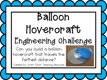 Balloon Hovercraft: Engineering Challenge Project ~ Great