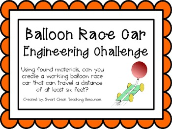 Balloon Race Car: Engineering Challenge Project ~ Great ST
