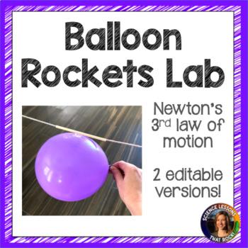 Balloon Rockets- Newton's 3rd Law Lab