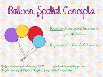 Balloon Spatial Concepts