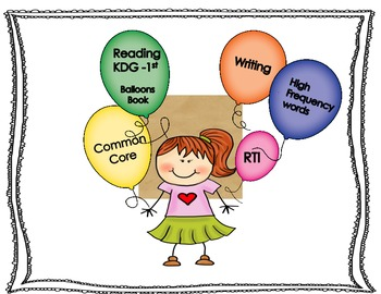 Balloons Early Literacy Book and Activities