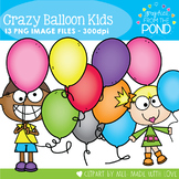 Balloons - FREE Clipart Graphics Set for Teaching Resources