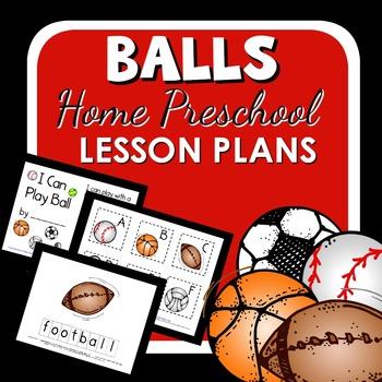 Balls Theme Home Preschool Lesson Plans