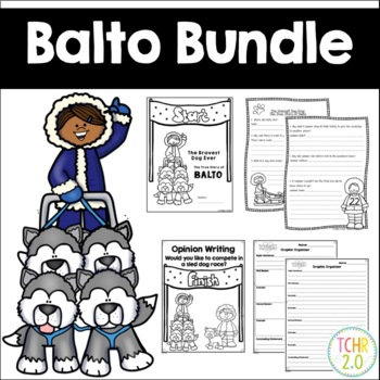 Balto Writing Bundle Iditarod Alaska March