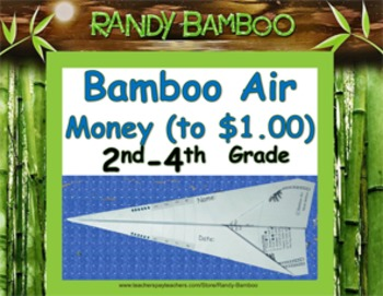 Bamboo Air - Money (up to $1.00) (Turns into airplane! Stu