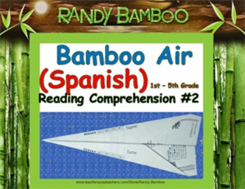 Bamboo Air (Spanish) - Reading Comprehension #2 (turns in
