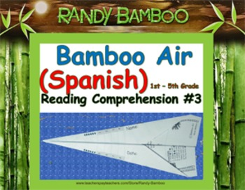 Bamboo Air (Spanish) - Reading Comprehension #3 (turns in