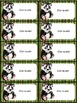 "Bamboo Forest (Panda Theme) EDITABLE  Labels (2""x4"")"