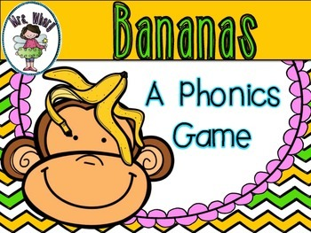 Bananas - A Phonics Game