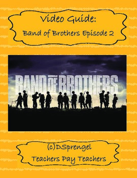 Band of Brothers Episode 2 Day of Days Video Movie Guide (