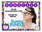 GROWING BUNDLE : Bandeaux Oral communication game
