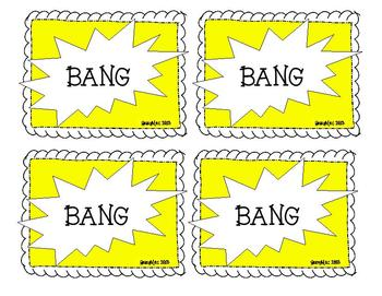 Bang- A High Frequency Word Game (Set A)