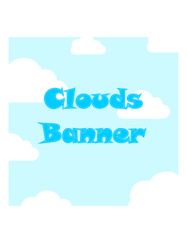 Banner Clouds