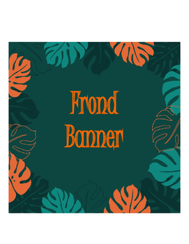 Banner Fronds Leaves