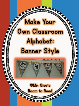 Banner Style Classroom Alphabet