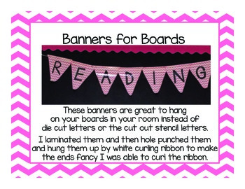 Banners for Boards