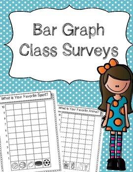Bar Graph Class Surveys-- with pictures!
