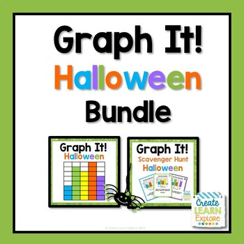 Bar Graph Halloween Bundle