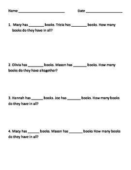 Bar Graph Problem Solving