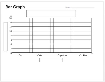 Bar Graphing Template