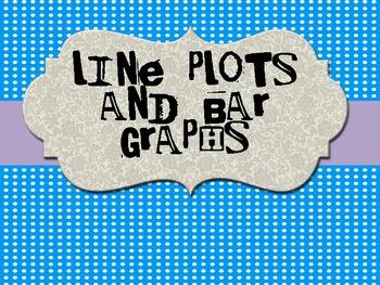 Bar Graphs and Line Plots