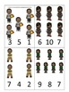Barack Obama themed Count and Clip Cards preschool printab