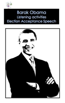 Barak Obama - Listening and Lexical Activities - Election