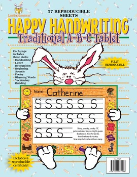 Barker Creek - Traditional ABC Handwriting E-Book