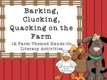 Barking, Clucking, Quacking on the Farm: Kindergarten CCSS