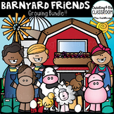 Barnyard Friends Growing Bundle {Farm Clip art}