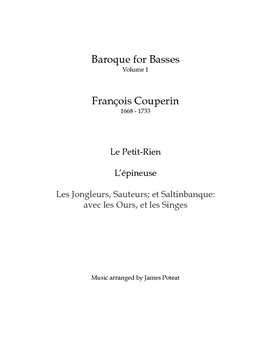 Baroque for Basses: François Couperin