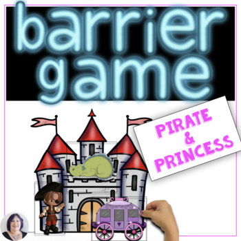 Barrier Games for Language Speech Therapy Pirates & Prince