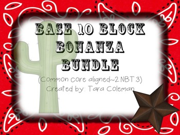 Base 10 Block Bonanza Bundle (2.NBT.3)