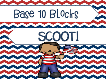 Base 10 Blocks Scoot: America Edition