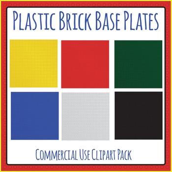 Base Boards Plastic Bricks (Similar to Lego or Lego Like)